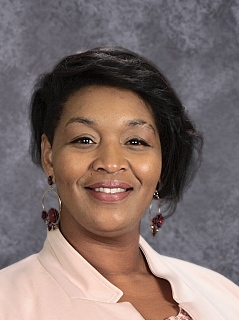 Photo of Portia Johnson, Principal
