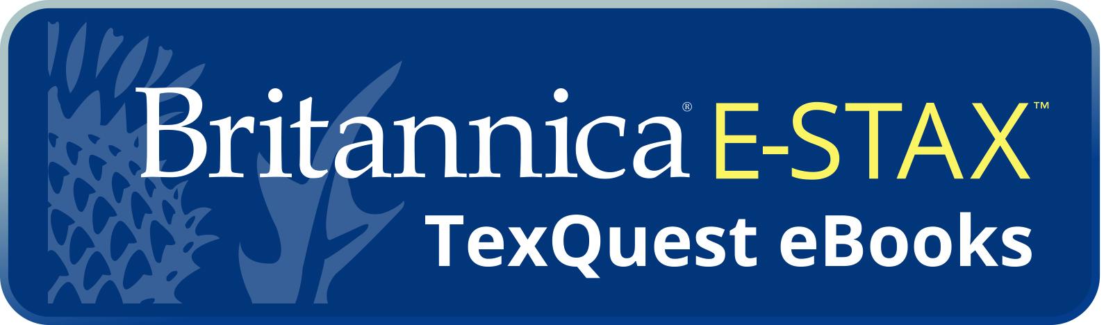 BRITANNICA E-STAX TEXQUEST EBOOKS