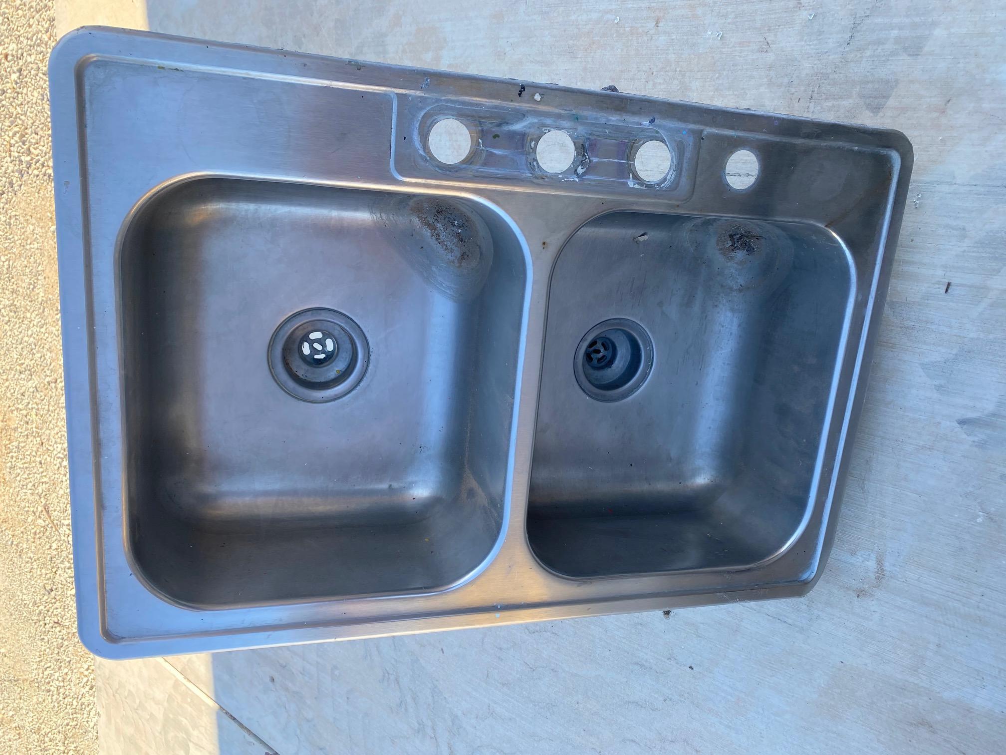 sink double