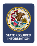 Seal of the State of Illinois - State Required Information