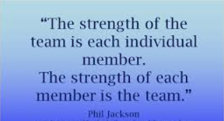 A quote of Phil Jackson