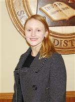 A photo of Erin Carrington, President.