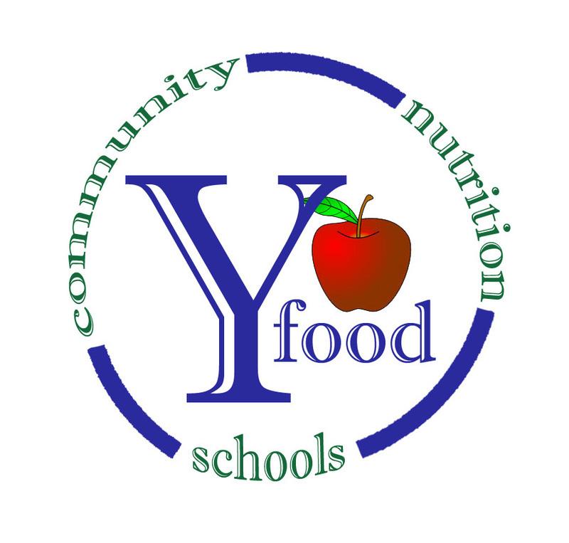 y food logo, community, nutrition, schools