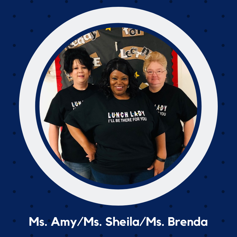 Photo of Ms. Amy, Ms. Shelia and Ms. Brenda