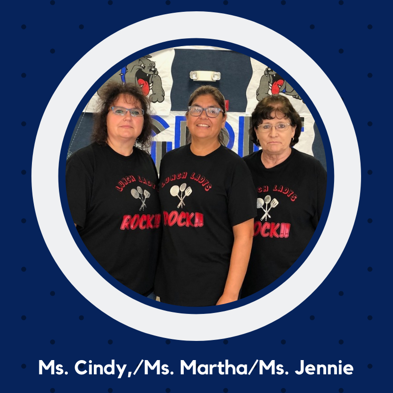 Photo of Ms. Cindy, Ms. Martha and Ms. Jennie