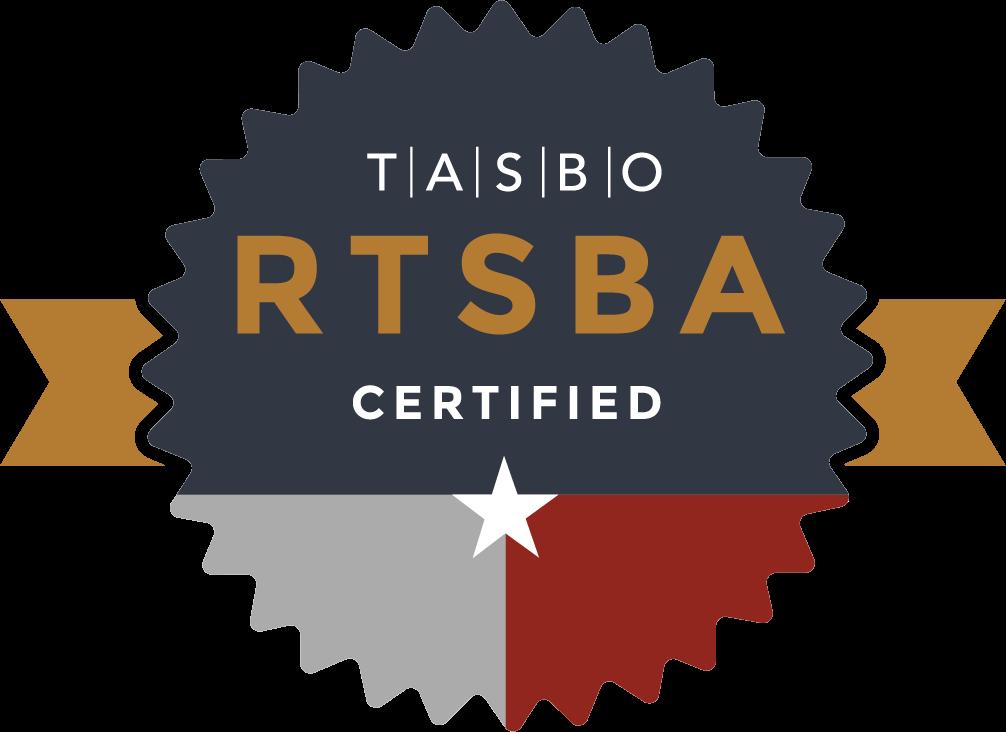 RTSBA Certified logo
