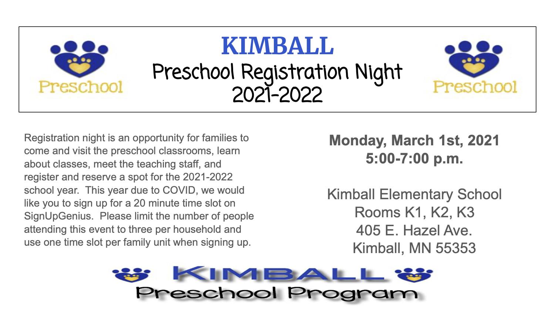 Registration night