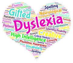 Dyslexia Heart