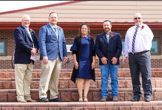 Board members left to right: Kory Kessinger, Nathan Quick, Jessica Filla, Tony Claflin, & Andy Molt