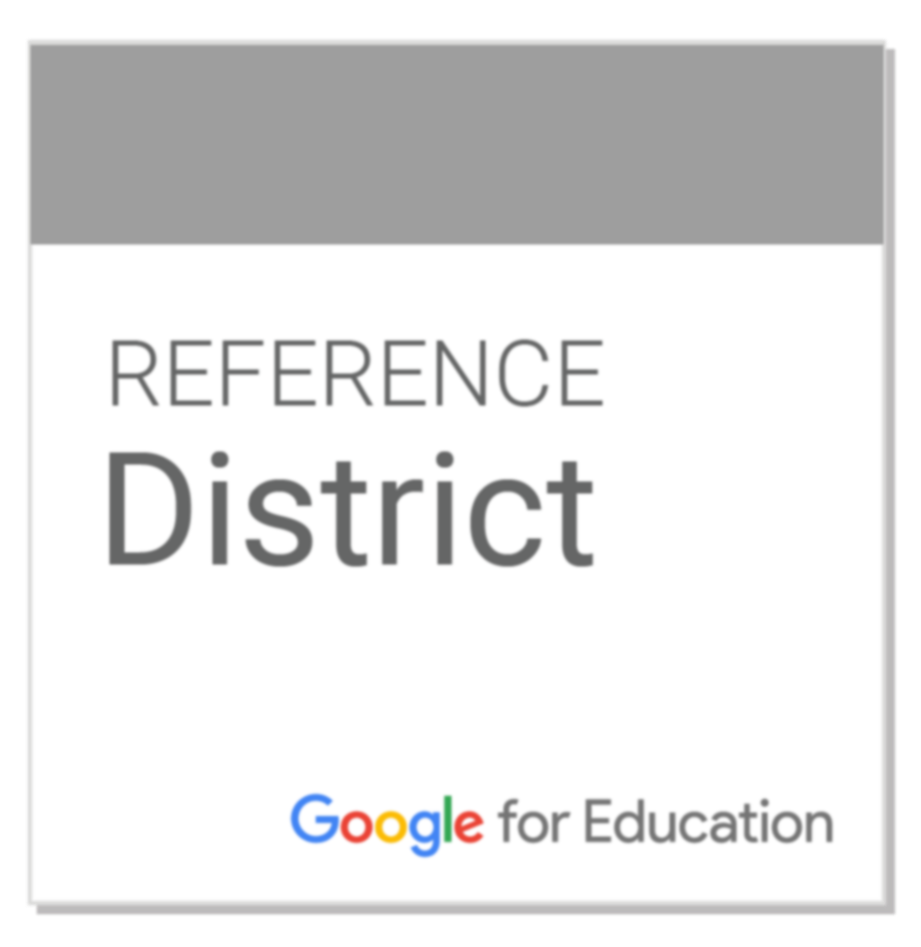 Reference District Google for Education