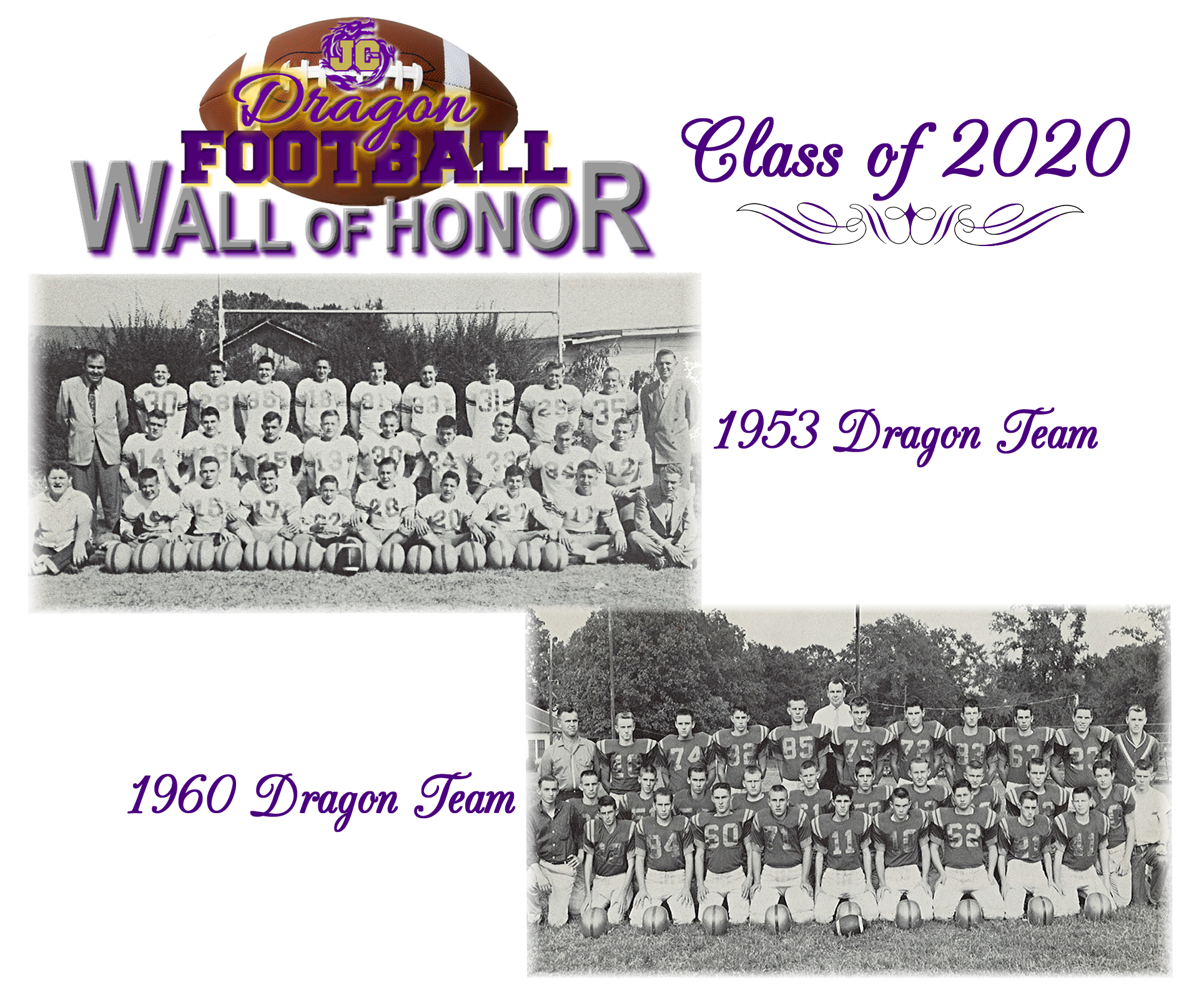 1953 Dragon Team and the 1960 Dragon Team