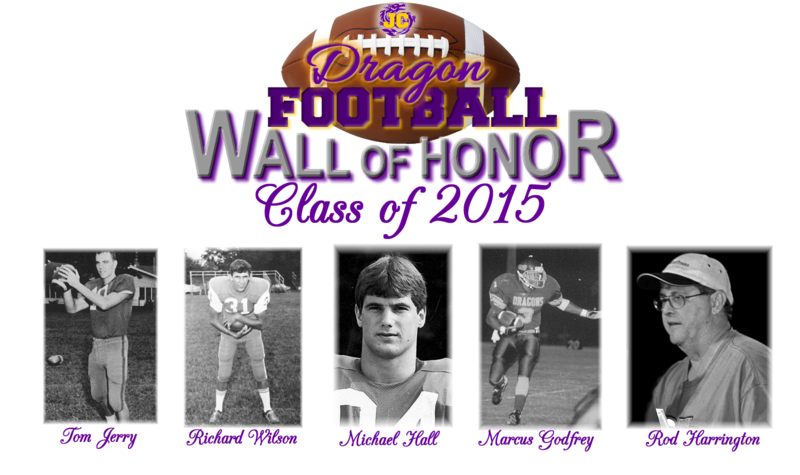 Class of 2015 Honorees Tom Jerry, Richard Wilson, Michael Hall, Marcus Godfrey, Rod Harrington