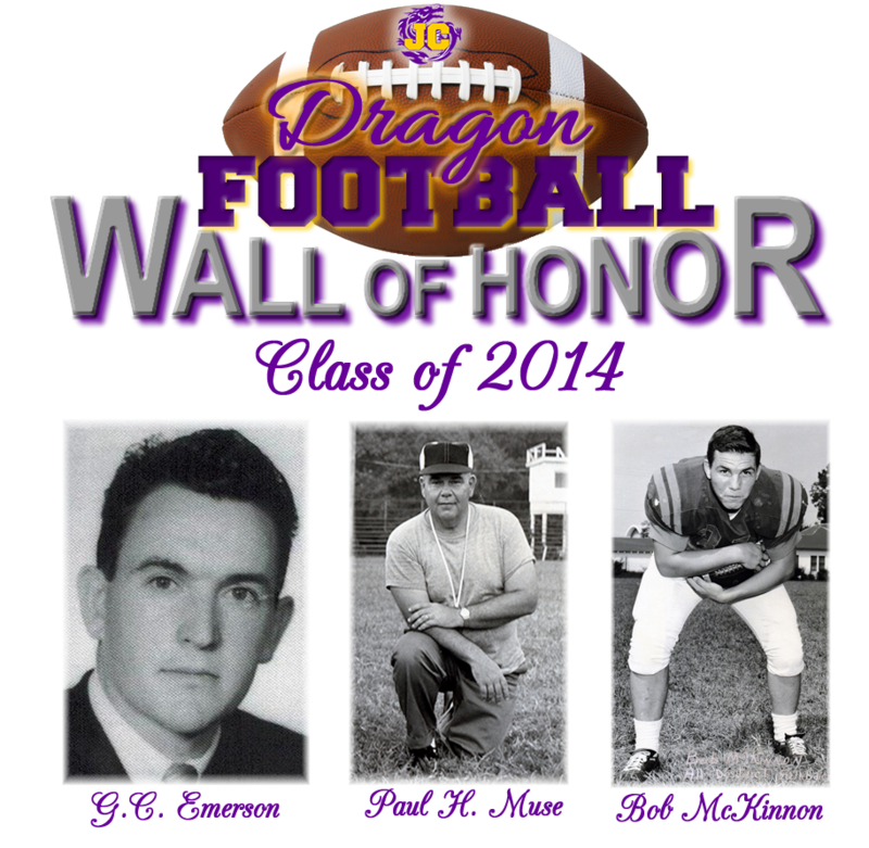 Class of 2014 Honorees G.C. Emerson, Paul H Muse, Bob McKinnon