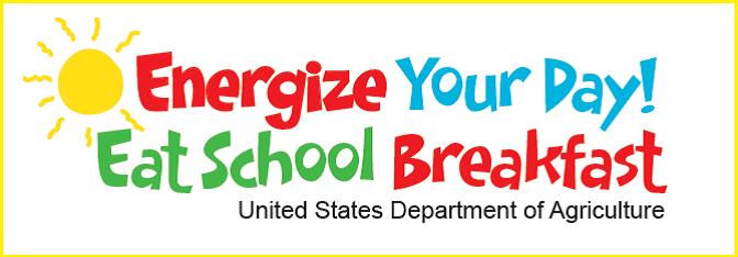 Energize your day! Eat School Breakfast