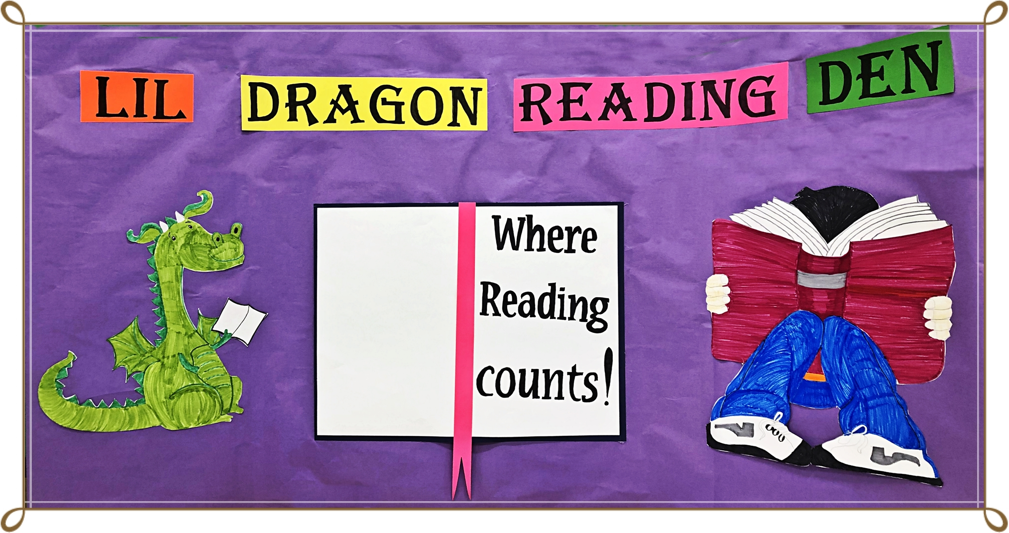 Lil Dragon Reading Den