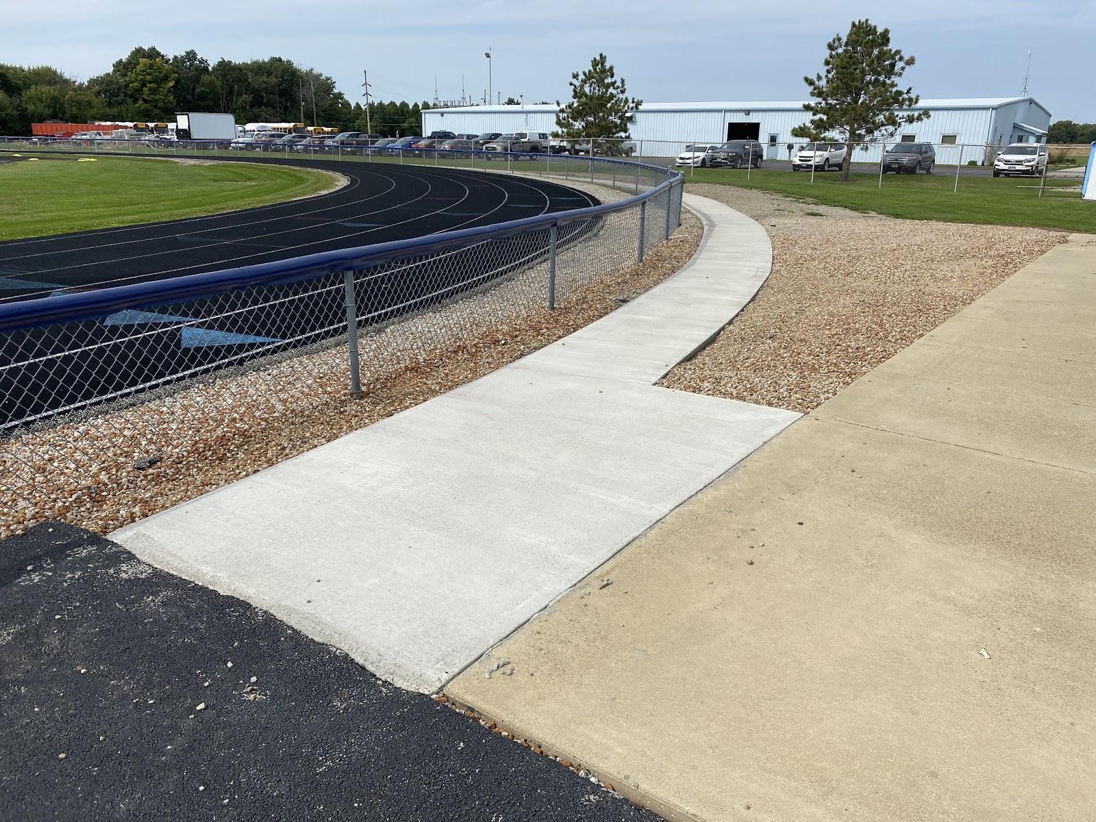 OHS Stadium Path