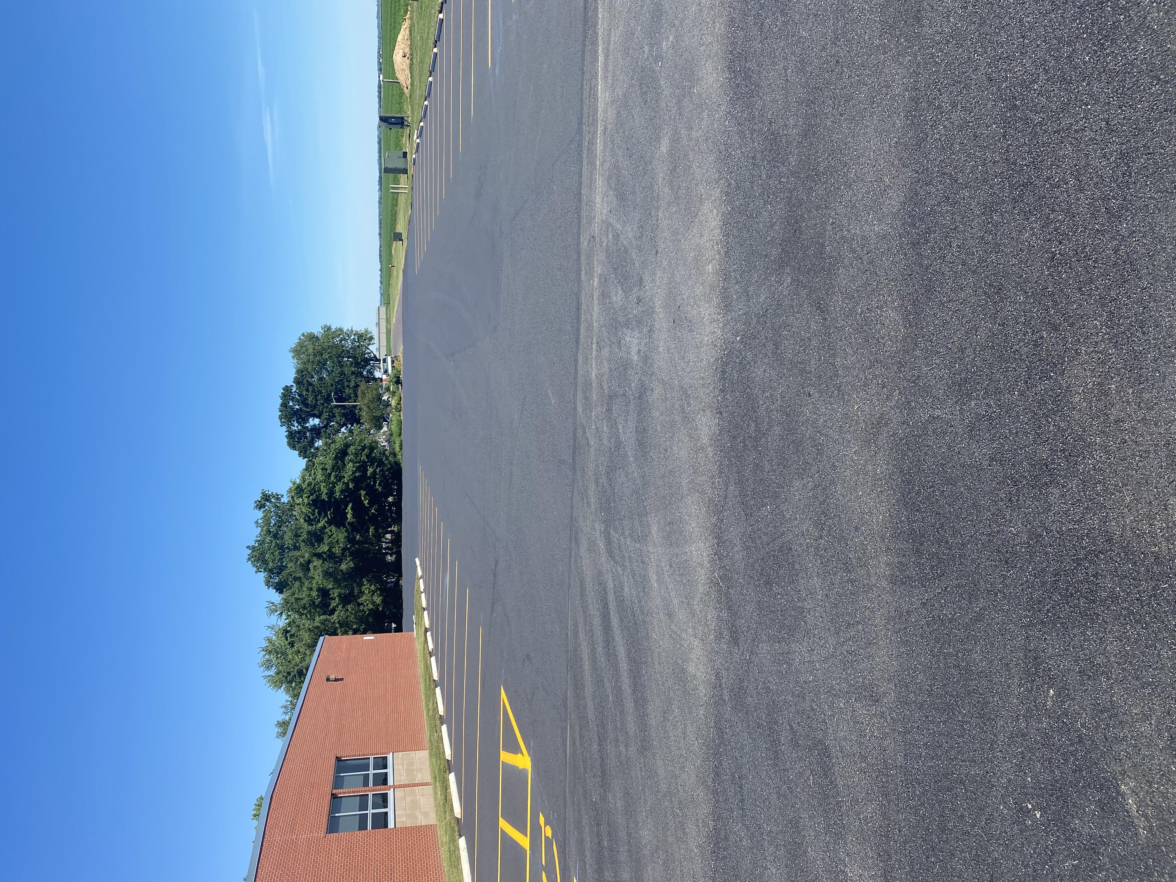 Staff parking