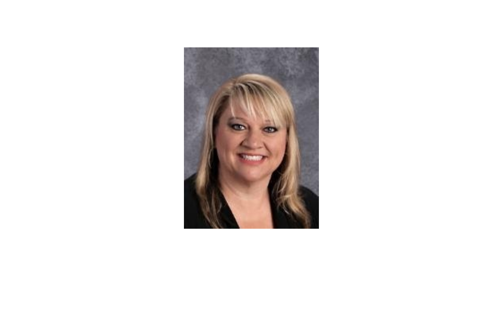 A photo of Superintendent Dr. Nancy Anderson.