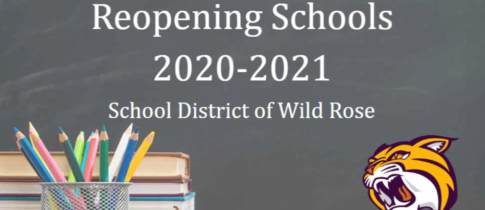 Reopening Schools 2020-2021