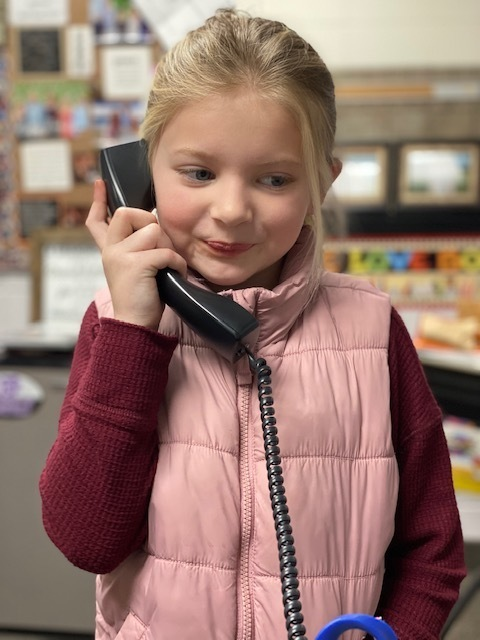 Good News Phone Call - girl student