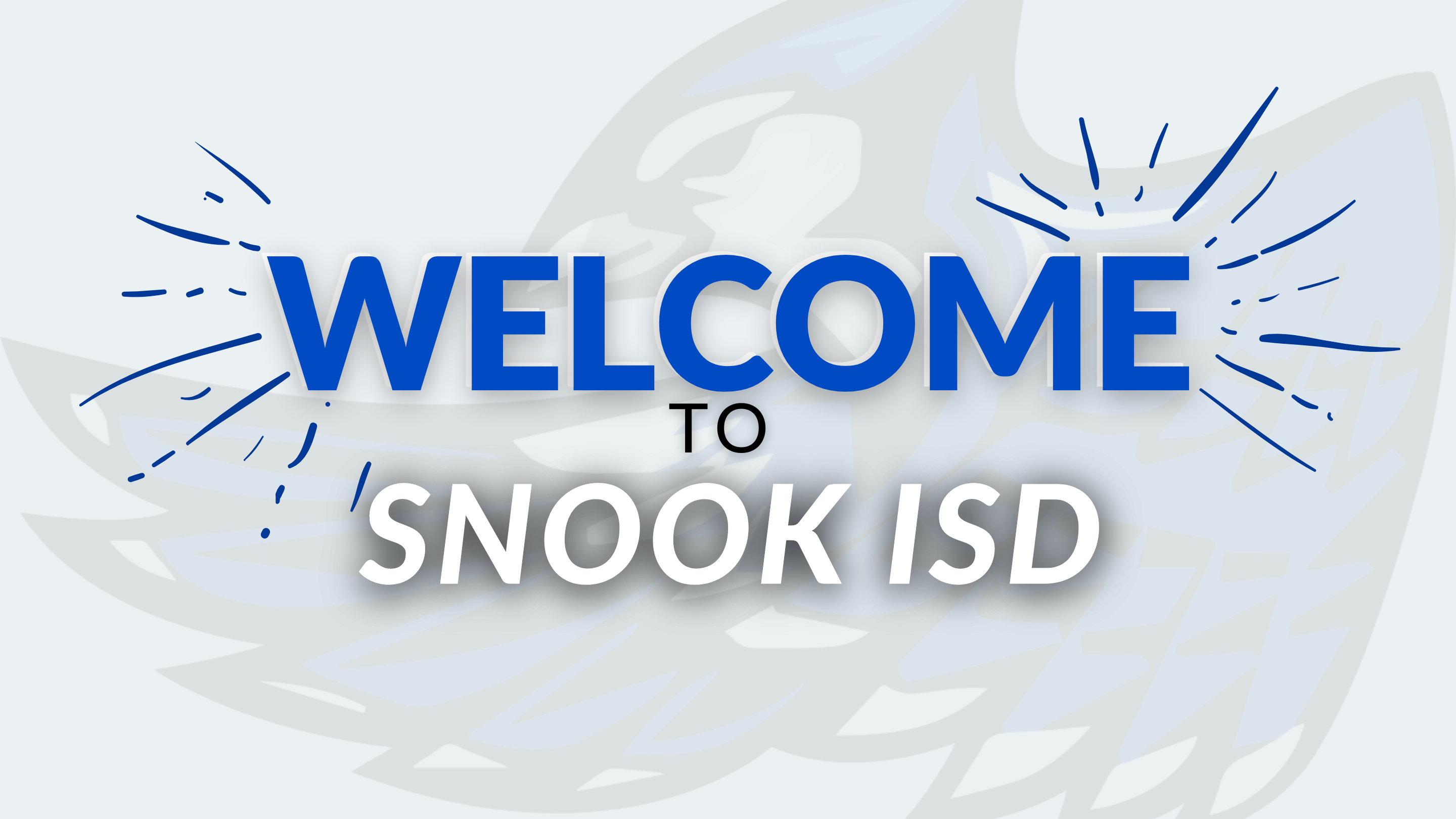 welcome to snook isd