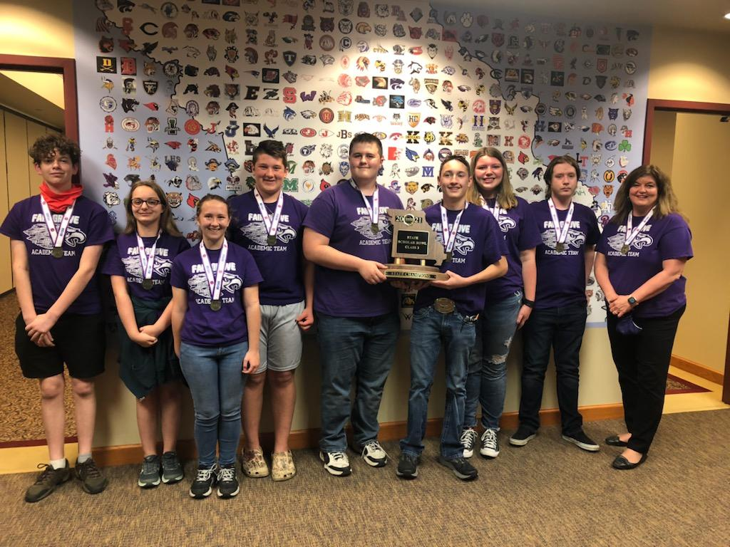 FGHS Scholar Bowl State Champs 2021