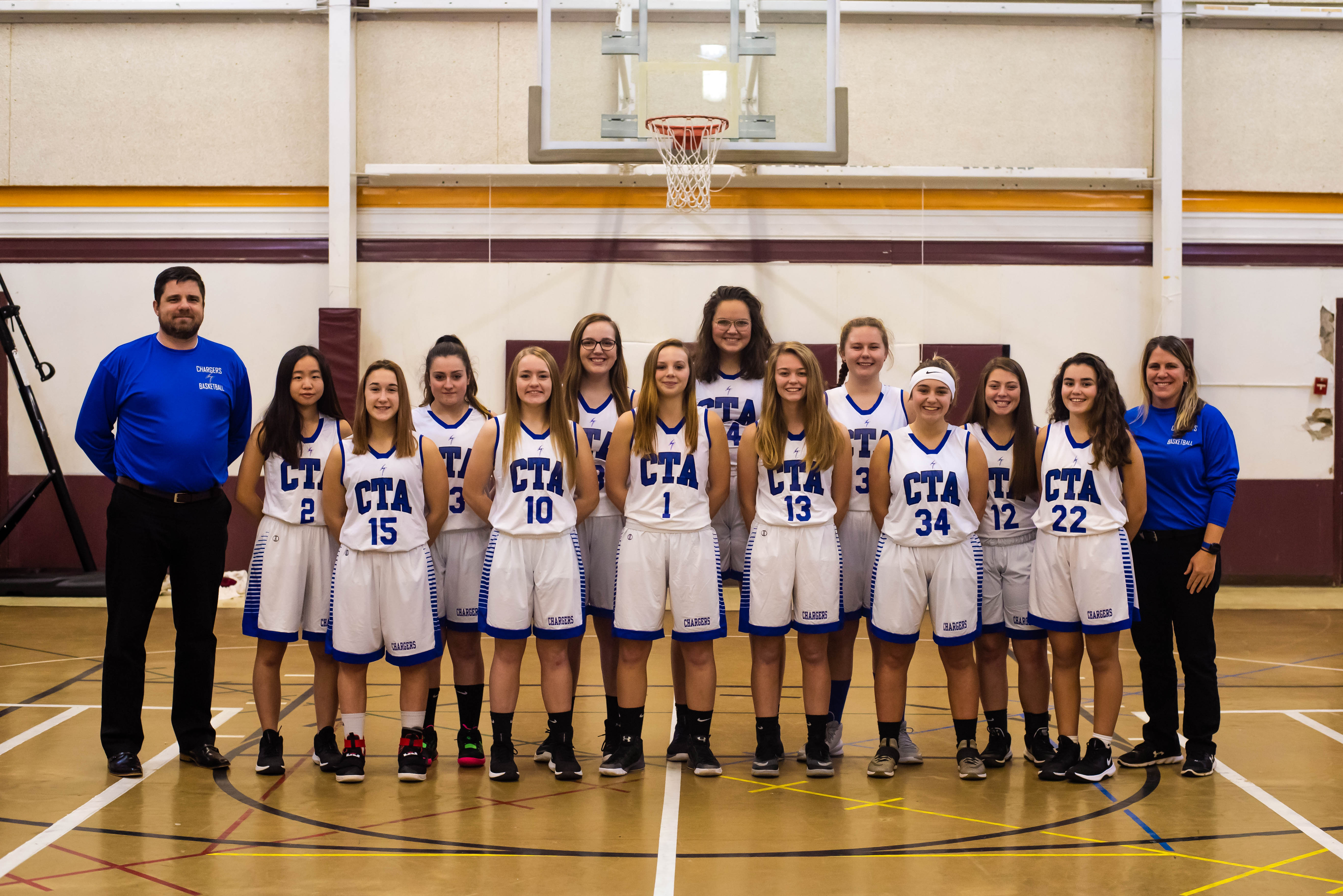 Picture of the Girls basketball