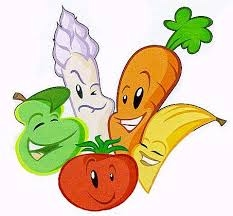 A clipart image of vegetables