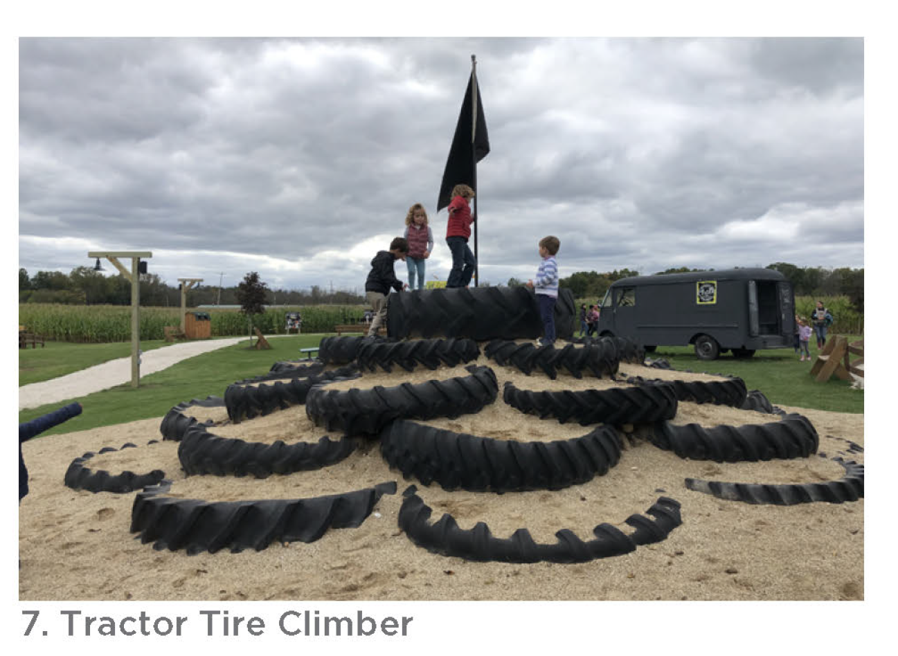 Tractor Tire Climber