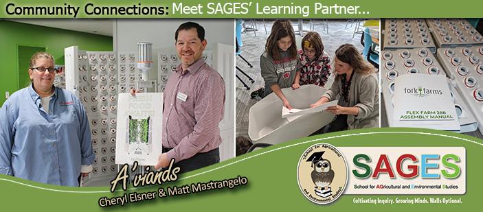 Community Connections: Meet SAGES' Learning Partner... - Photos of A'viands - Cheryl Elsner and Matt Mastrangelo