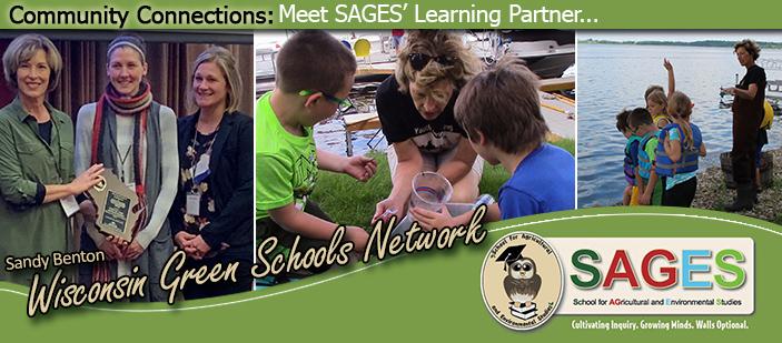 Photos of Sandy Benton - Wisconsin Green Schools Network.