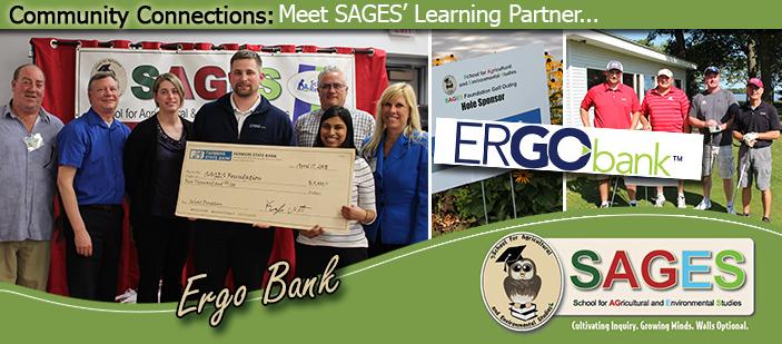 Photos of Ergo Bank volunteers.