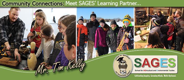 Photos of Mr. Tim Kelly.