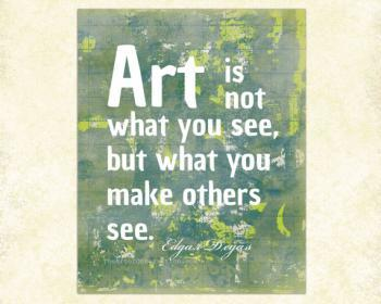 Wrt is not what you see, but what you make others see