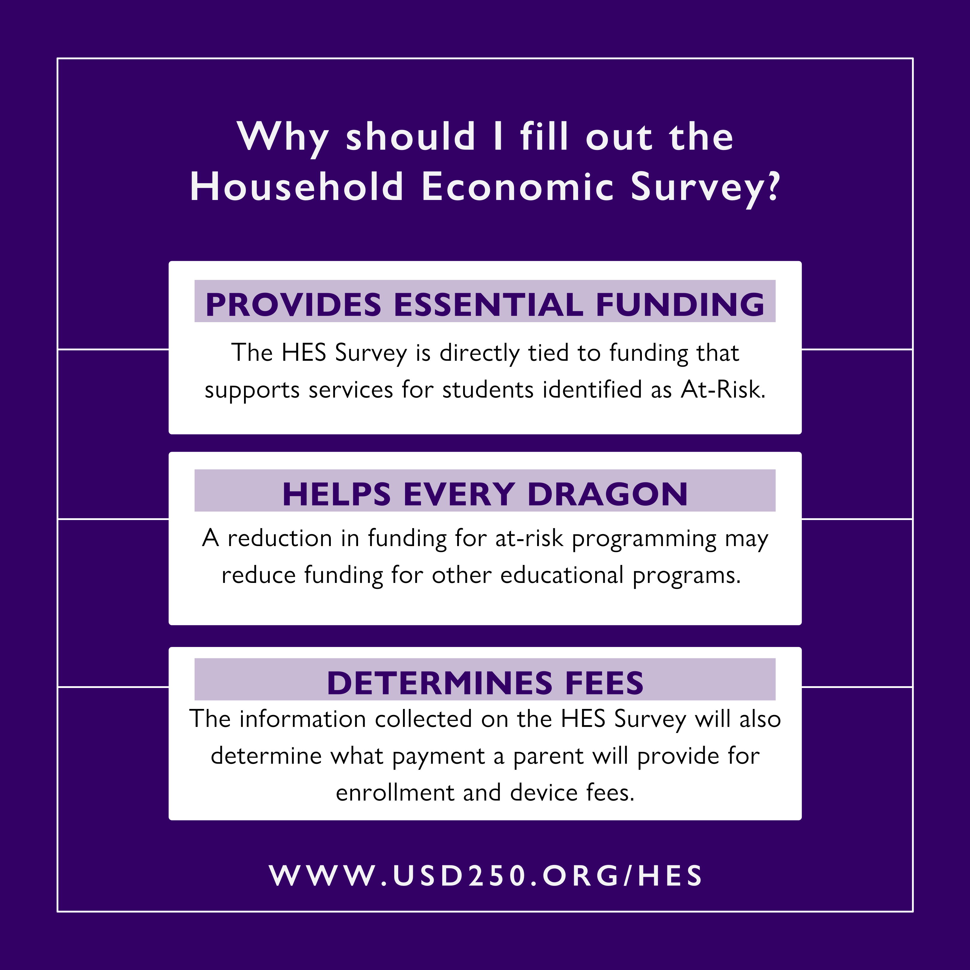 Why should I fill out the HES Survey?