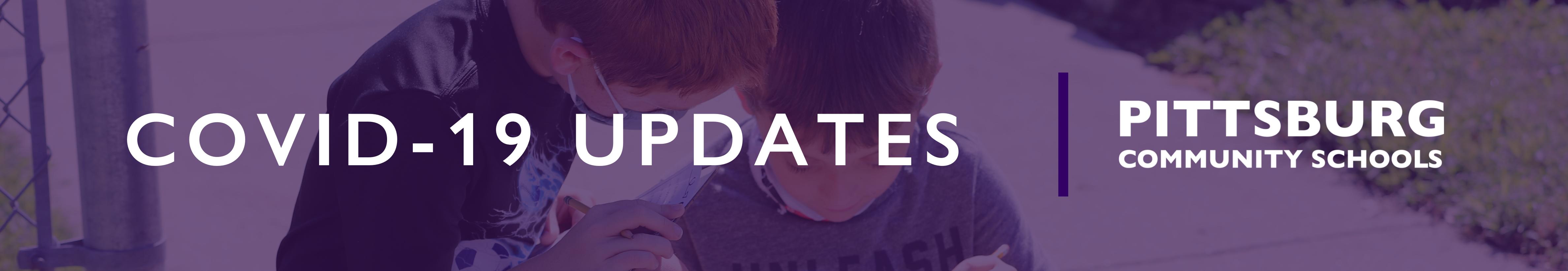 Covid-19 Updates Pittsburg Community Schools