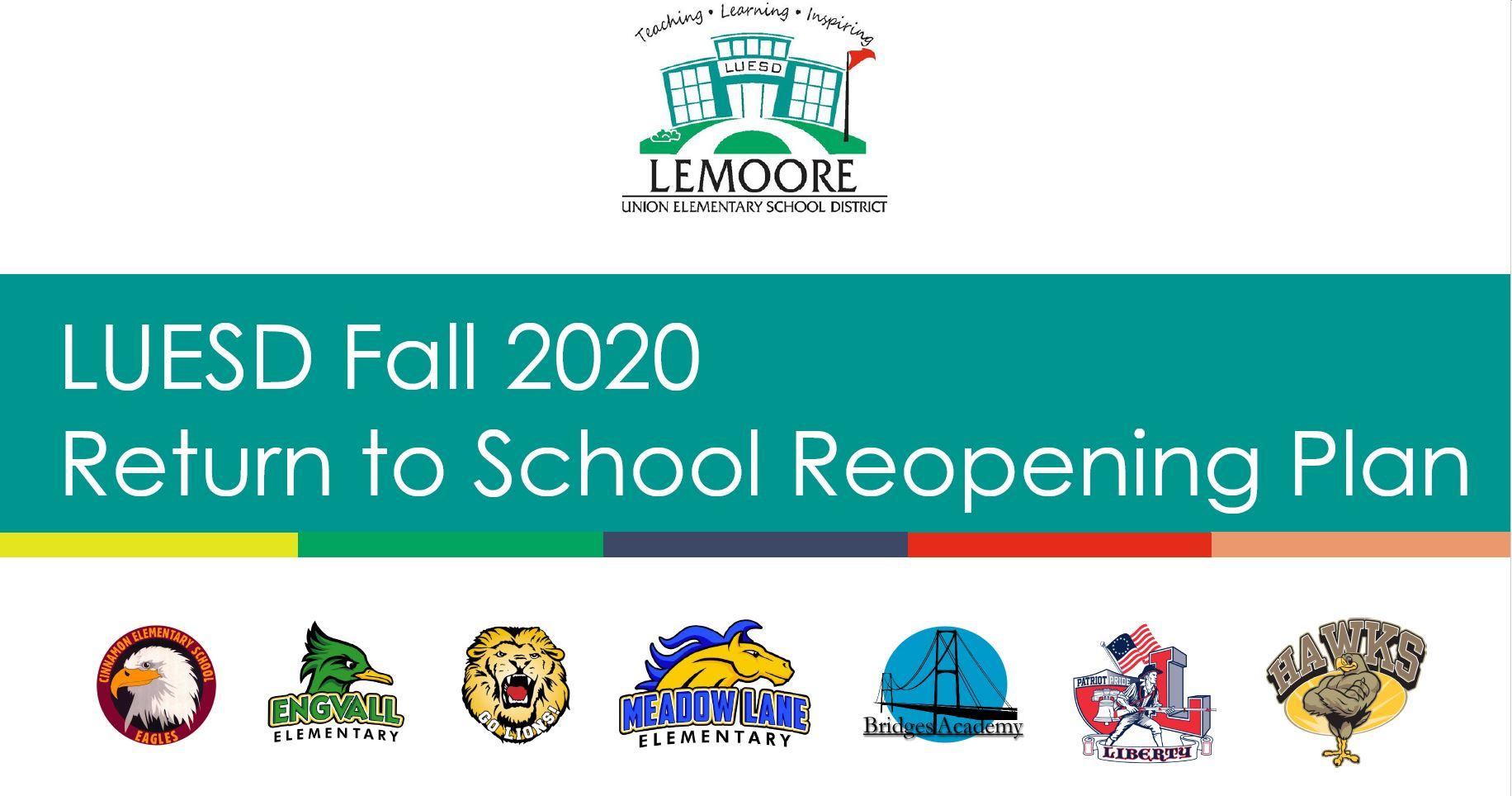 LUESD Fall 2020