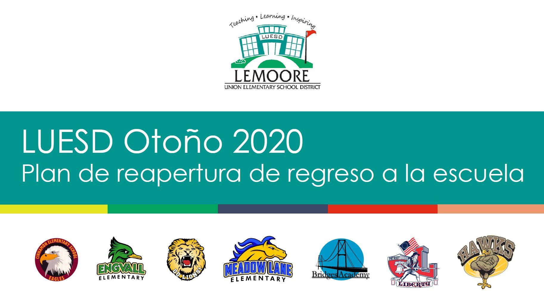 LUESD Otoño 2020