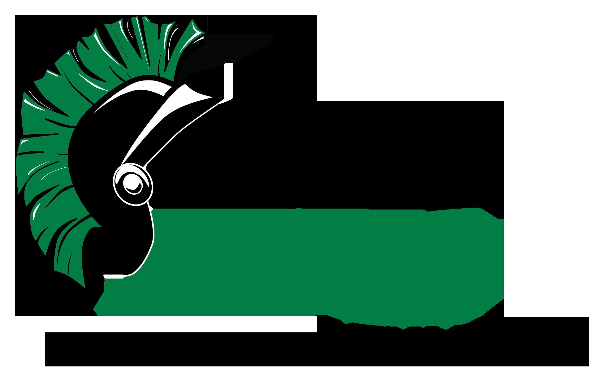 The image of the Warrior Athletics logo.
