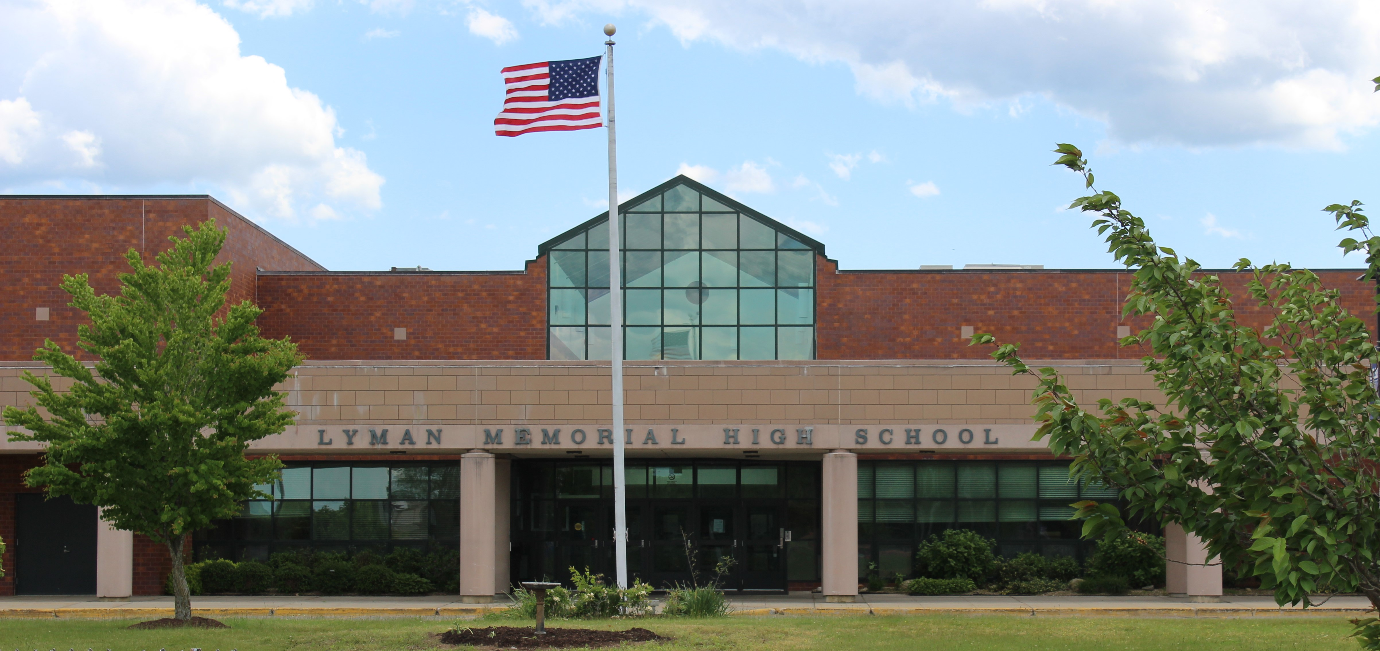 Front of the High School