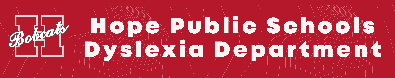 HPS Dyslexia Title Banner