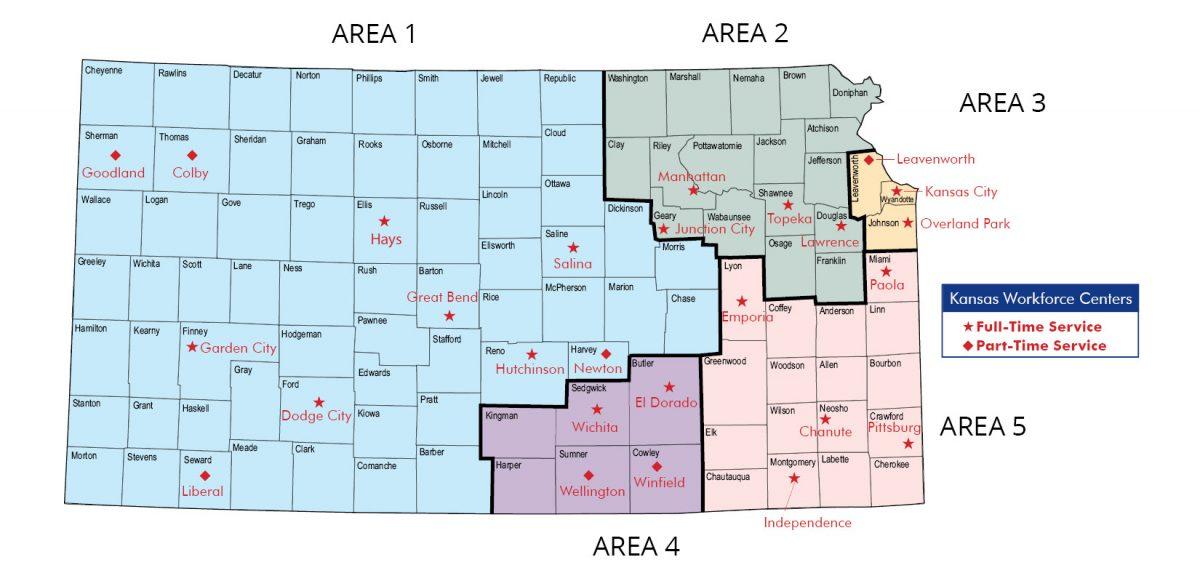 Kansas Workforce Map