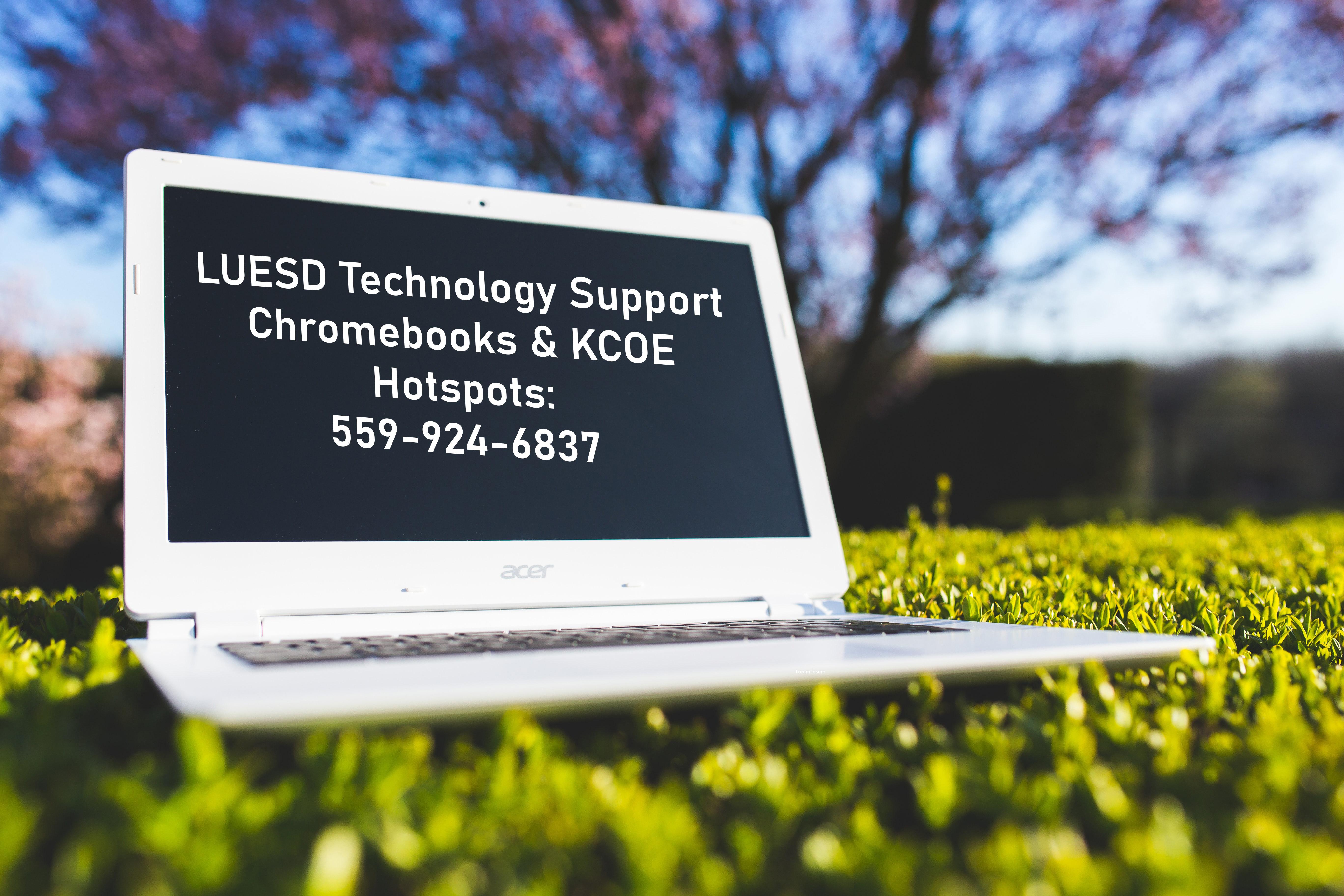 LUESD Tech Support 924-6837