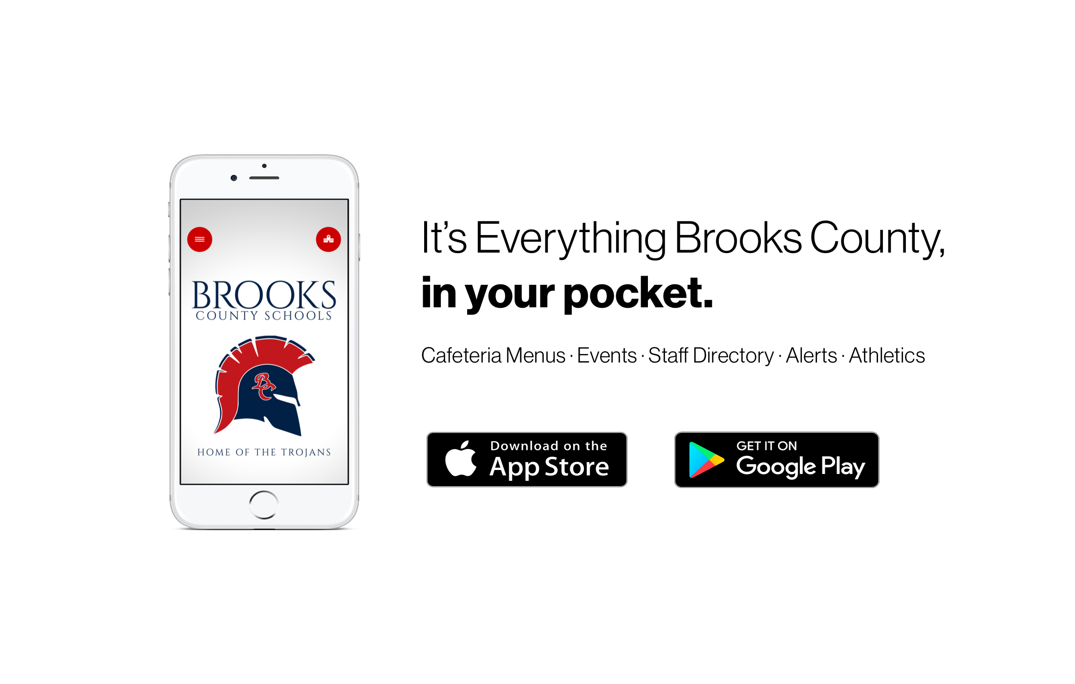 It's everything Brooks County in your pocket