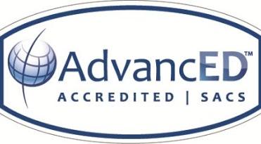 AdvanceED - Accredited - SACS logo