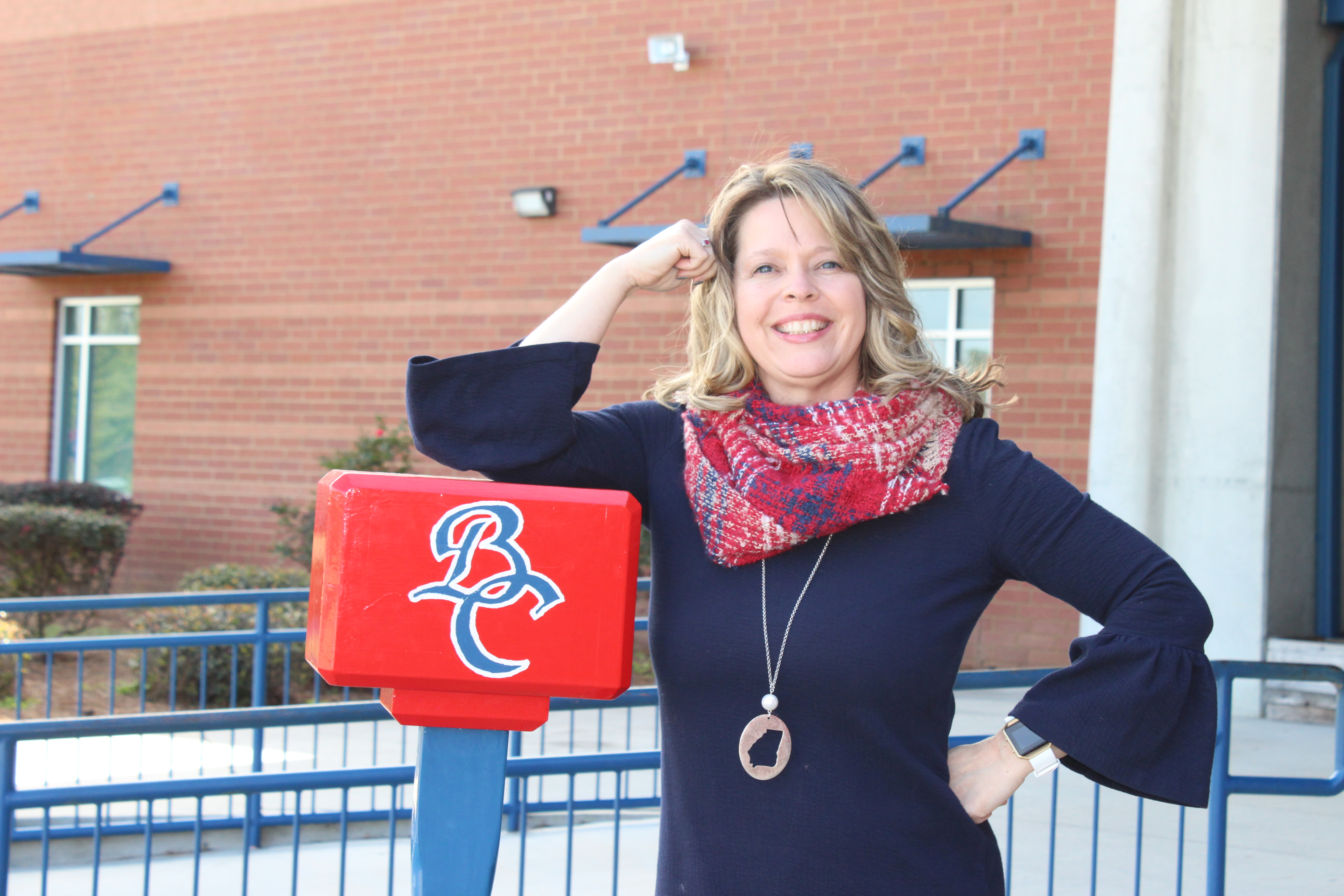 Photo of a Brooks County High School staff member.