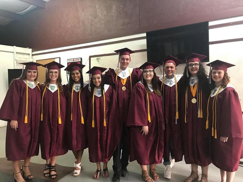 A photo of some graduates.