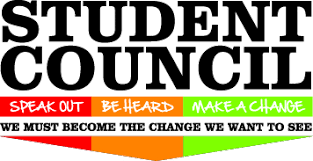 Student Council. Speak out, Be Heard and Make a Change. We must become the change we want to see.