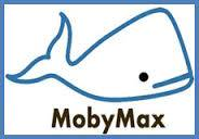 MobyMax. A drawing of a whale.