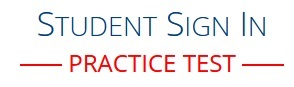 Student Sign In - Practice Test-